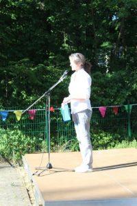 Montessori Oberschule Hangelsberg_Praxislernen in schuleigenen Werkstätten_Eröffnung Schulleiterin Kerstin Kleist_Schuljahr 2017-18