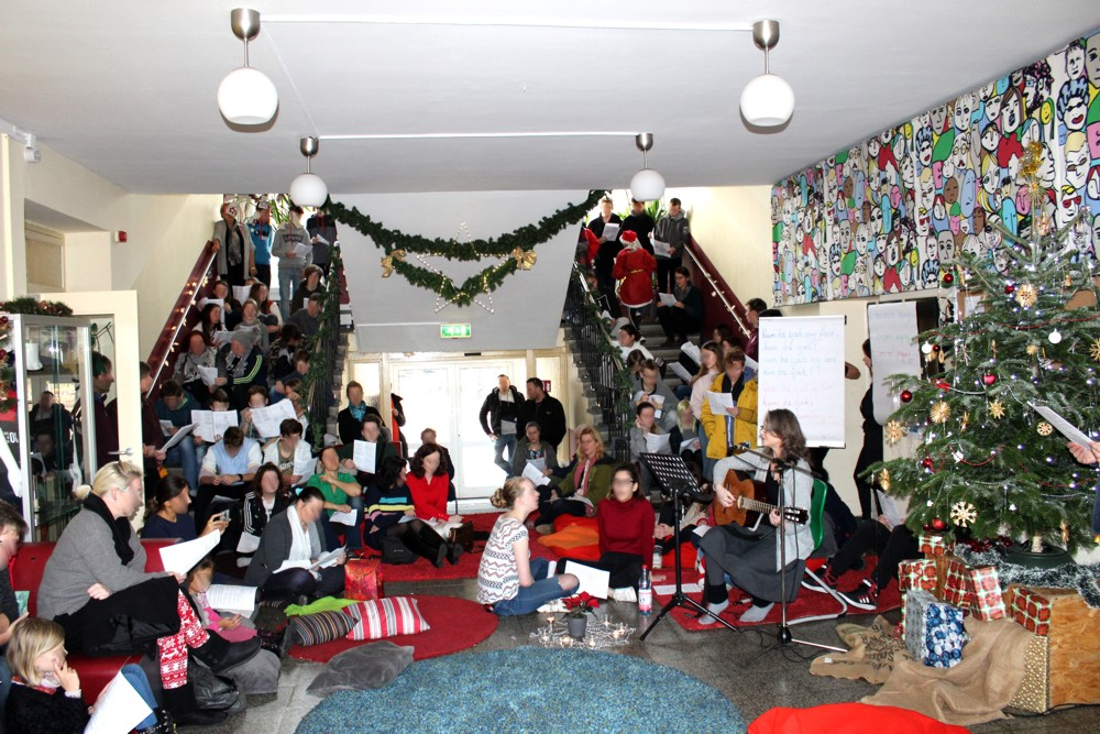 Montessori Oberschule Hangelsberg_Unsere Adventsfeier 2018