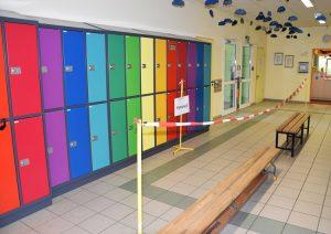 Auf den Fluren der Grundschule